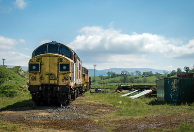 Class 37 Diesel Locomotive at Eden Valley Railway