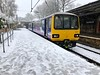 Class 144 'Pacer' in the Snow at Bingley