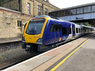 Class 195 at Lancaster