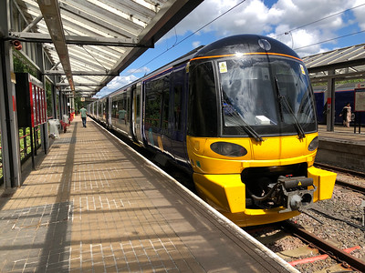 Class 333 at Bradford Forster Square