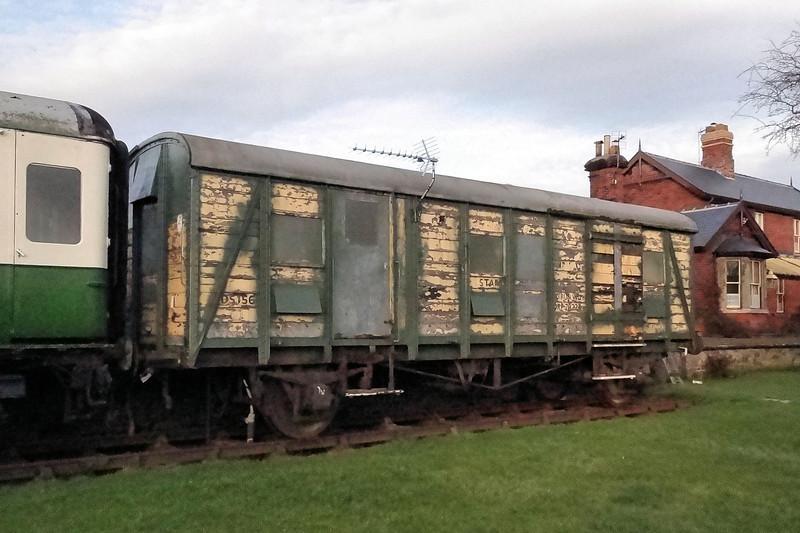 1156 (DS156) PMVY - Ebberston Station, Allerston 29.02.12