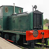 352 A Barclay 0-4-0DM - Fifield 20.05.12