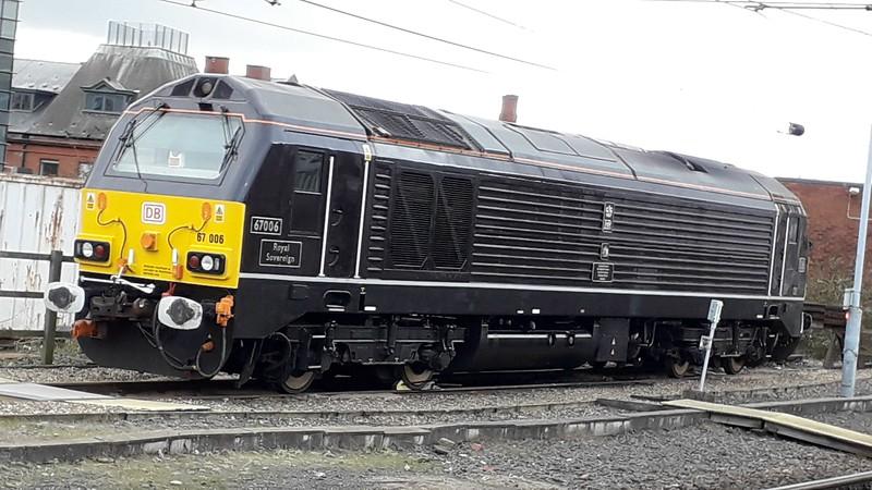 67006 Royal Sovereign - Newcastle - 26 January 2019
