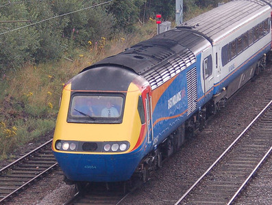 43054 leading an East MIdland Trains HST set towards Carlisle on 18th August, the train being a railtour from London St Pancras to Carlisle and return.