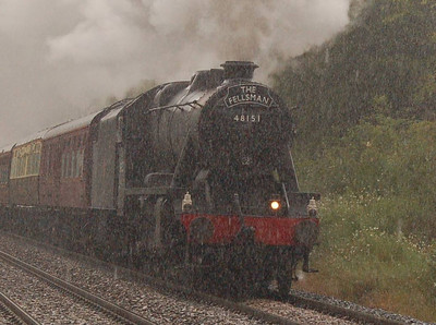 A closer view of 48151, showing the rain very clearly.