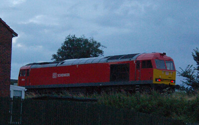 An even lousier shot: 60054 was on the other end of the engineering train and sounded like it was doing most of the work.