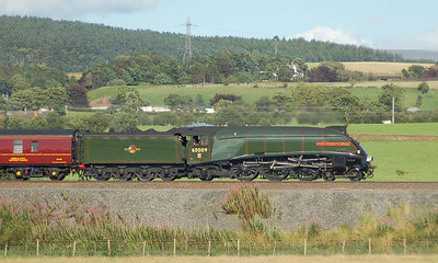 Another shot of 60009 Union of South Africa near Plumpton on 18th August 2012.