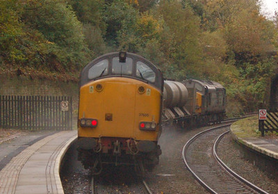 37605 bringing up the rear of 3S77 on 22nd OCtober.