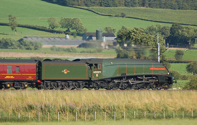 And a final view of 60009 near Plumpton, 18th August 2012.