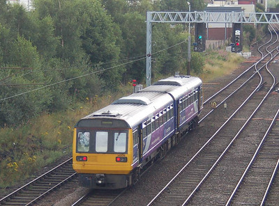 Heading away from Carlisle to Newcastle on 18th August 2012 is 142018.