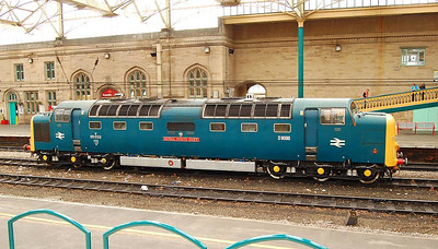 Another view of 55022 Royal Scots Grey at Carlisle on 24th April 2013.
