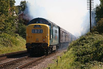 55019 lays a smokescreen over Rothley. I shouldn't think the neighbours would have appreciated that. 12/9/09