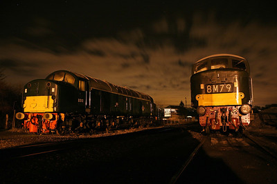 D212 and D182 at Butterley.12/12/09