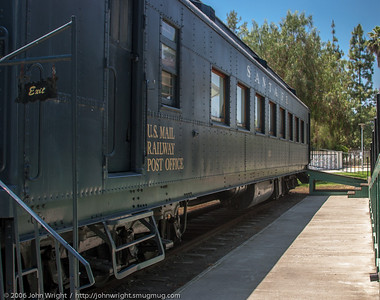 Santa Fe RPO Car No. 112, Grape day Park, Escondido