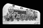 LMS No. 11111 Pencil Drawing