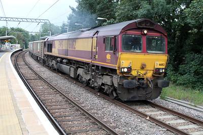 66182 1503/6v17 Parkeston Tip-Acton passing Gospal Oak 01/10/13.