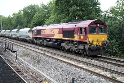66076 1516/6L26 Acton-Dagenham passing Gospel Oak 01/10/13.