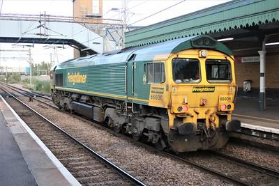 66606 is seen at Dagenham Dock   10/07/20