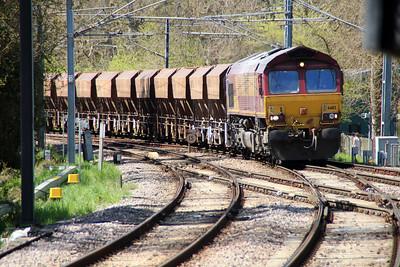 66112 1315/6L38 Acton-Marks Tey passing Gospel Oak 03/05/13.