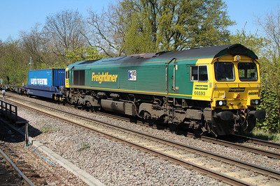 66593 1253/4e24 Grain-Leeds passing Gospel Oak 03/05/13.