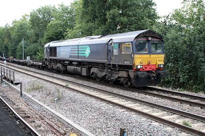 66425 1534/4L48 Daventry-Tilbury running very late passing Gospel Oak 01/10/13.