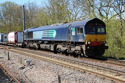 66432 1446/4L48 Daventry-Tilbury passing Gospel Oak 03/05/13.