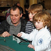 Kids of All Ages Enjoy Playing with Trains - Model Railway Exhibition - Town Hall - 6 November 2011