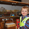 Youngster Having a Great Time - Model Railway Exhibition - Town Hall - 6 November 2011