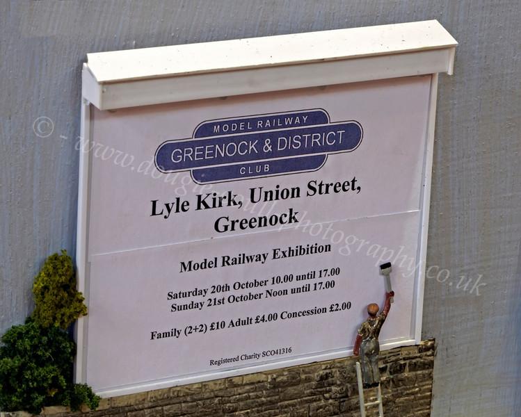 Billboard on 'Craiglang' Layout - Lyle Kirk, Union Street - 21 October 2012