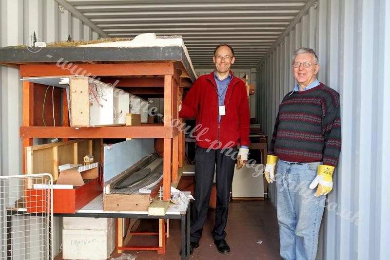 Preparing to Unload Container