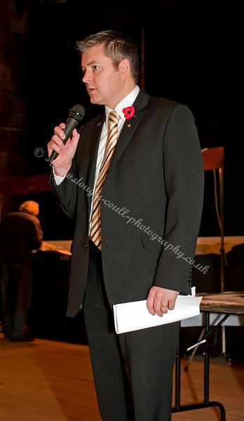 Stuart McMillan - MSP - Delivers his Opening Speech to the Model Railway Exhibition