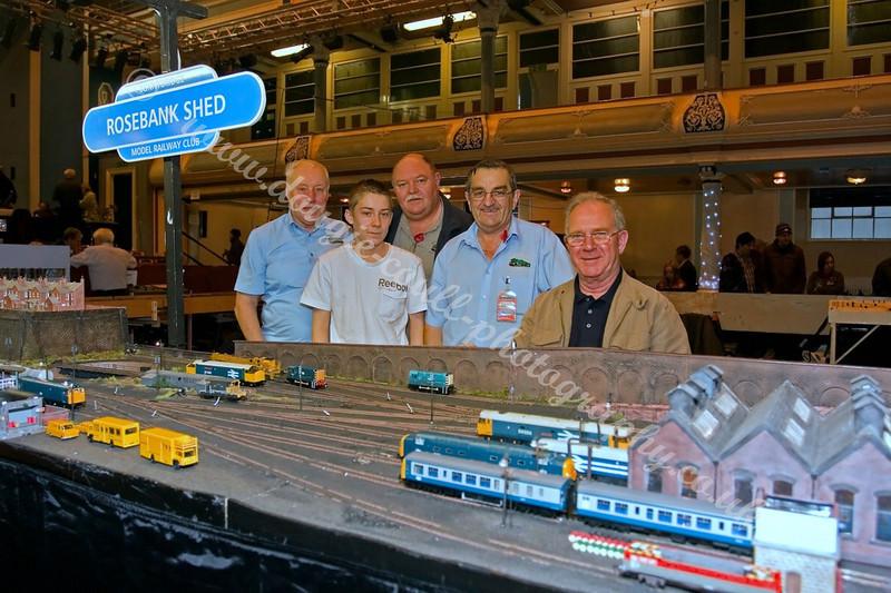 Bonnybridge Model Railway Layout and Modellers