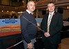 Greenock Club Chairman Mike Jones with Stuart McMillan MSP