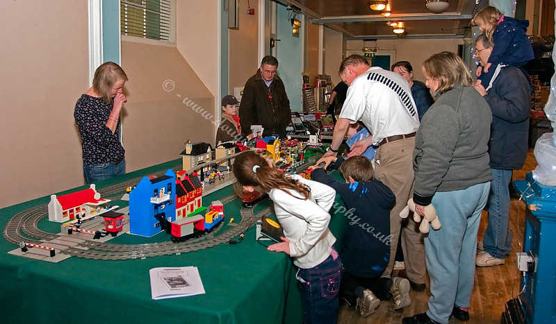 The LEGO Layout is always popular with kids and adults alike