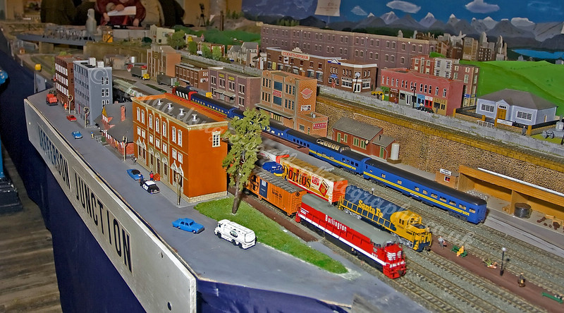 Busy Layout - Jefferson Junction