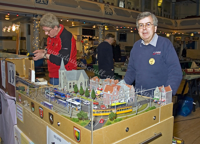 Mervyn - Miniature Layout of Willemsplein Trams