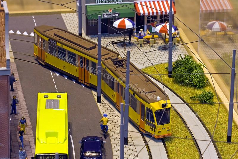 Miniature Layout - Willemsplein Trams