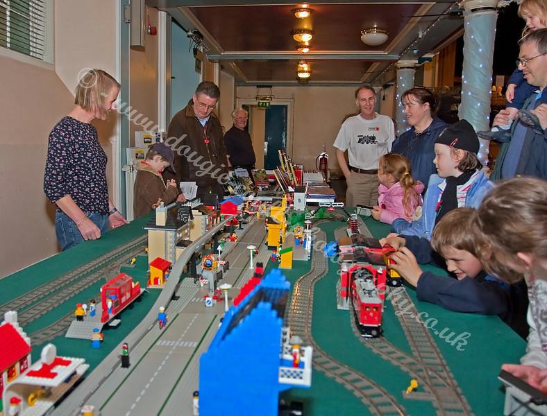 LEGO Train Layout - David Graham Exhibit