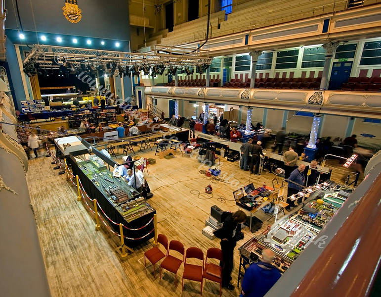 Birds-Eye View of the Layouts