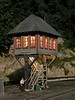 This yard tower photo graced the cover of O-Scale Trains issue #5. Since publication, Lionel copied David's design as Yard Tower 6-14227 at a retail price of $41.99. Lionel did not give David any credit.