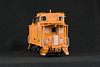 HO caboose model by Rick Bacon III. All photos in Adobe RGB color space.