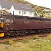 7th May 2011. West Coast Railways Class 47 47760 at Mallaig prepares for the return trip to Fort William on the SRPS Rail Excursion from Glenrothes with Thornton.