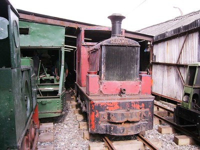 58, Hudswell Clarke D558/1938, looking like a non-runner at present