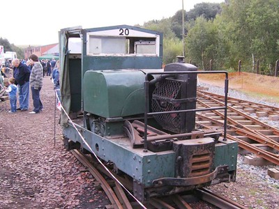 20, Motor Rail 8748/1948, front three quarter view