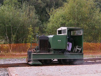 First loco seen after I arrived at Apedale was 42, Motor Rail 7710/1939, side view