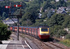 The following morning a Virgin HST approaching Lostwithiel.
