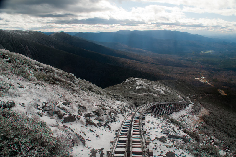 """""""Jacob's Ladder"""", steepest part of the trip."""