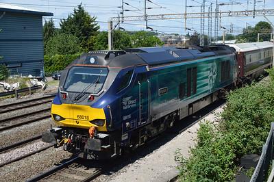 68018 1225/5z68 Crewe-Paddington passing Kings Langley  03/06/17