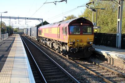 66055 1835/4o57 Hams Hall-Dollands Moor 02/05/13.