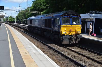 66421 1131/4z48 Daventry-Ripple Lane passing Kings Langley  03/06/17
